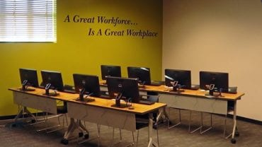 Microsoft Training Room is open for business