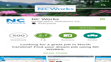 NCWorks Online: There's an app for that!