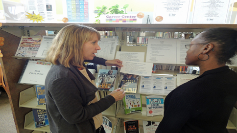 Library partnership increases options for job-seekers