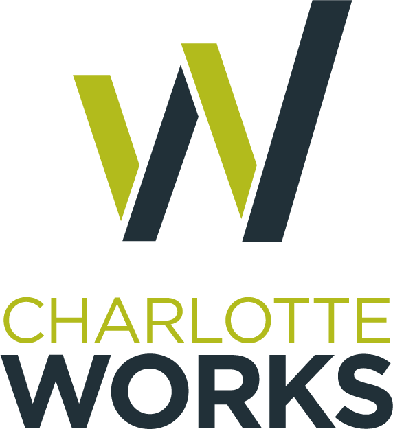 Charlotte Works stacked logo