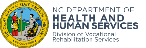 North Carolina Department of Health and Human Services - Division of Vocational Rehabilitation Services logo