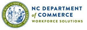 North Carolina Department of Commerce Workforce Solutions logo